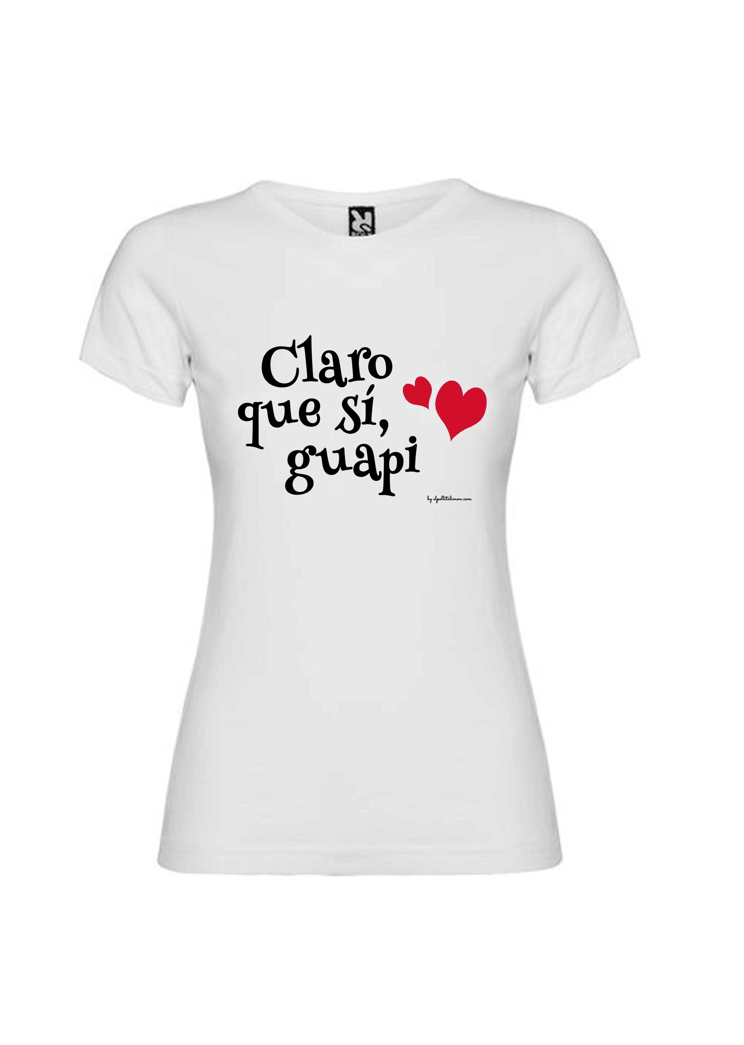 """Pollito Limon Guapi Sí Camiseta El Chica """"claro Que fwx0wvYCq"""